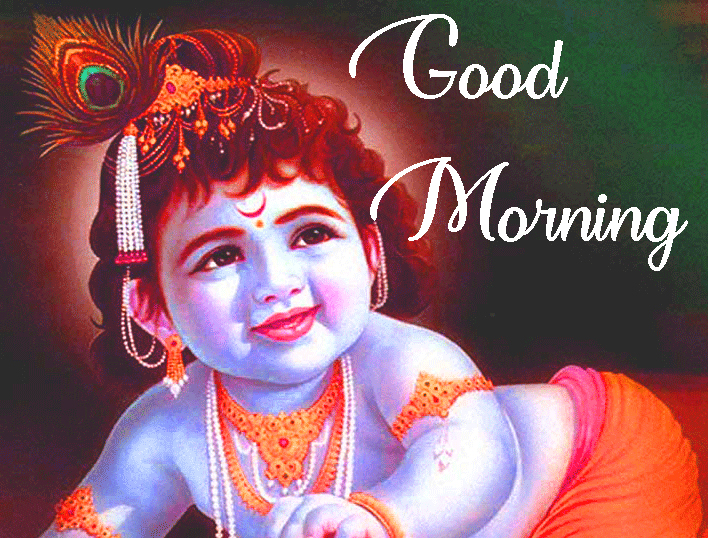 Good Morning with Bal Krishna Image HD