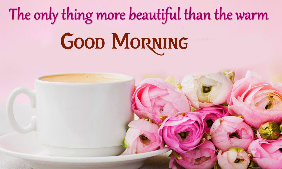 Good Morning with Beautiful Quote