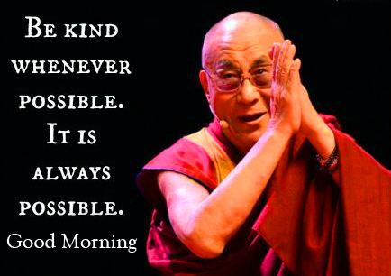 Good Morning with Best Dalai Lama Quotes
