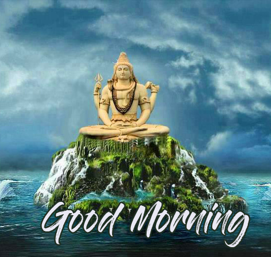 Good Morning with Best Shiv Ji Image