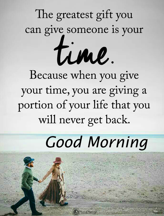 Good Morning with Latest Time Quotes