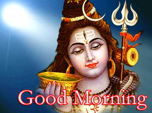 Good Morning with Lord Shiva Pic