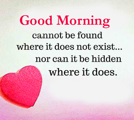 Good Morning with Love Quotes Pic