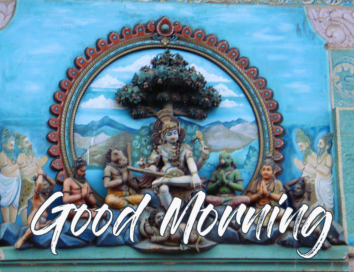 Good Morning with Lovely Mahadev Pic