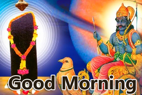 Good Morning with Lovely Shani Dev Pic