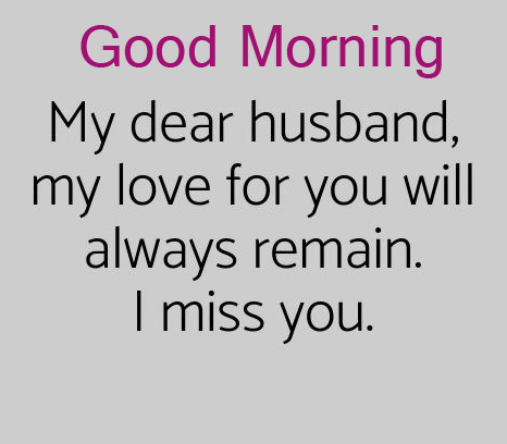 Good Morning with My Love Wish