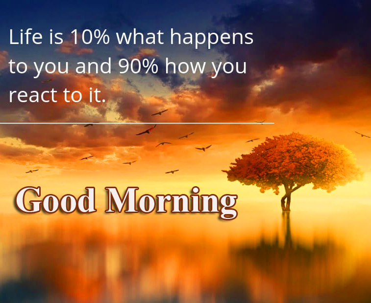 Good Morning with Positive Quotes