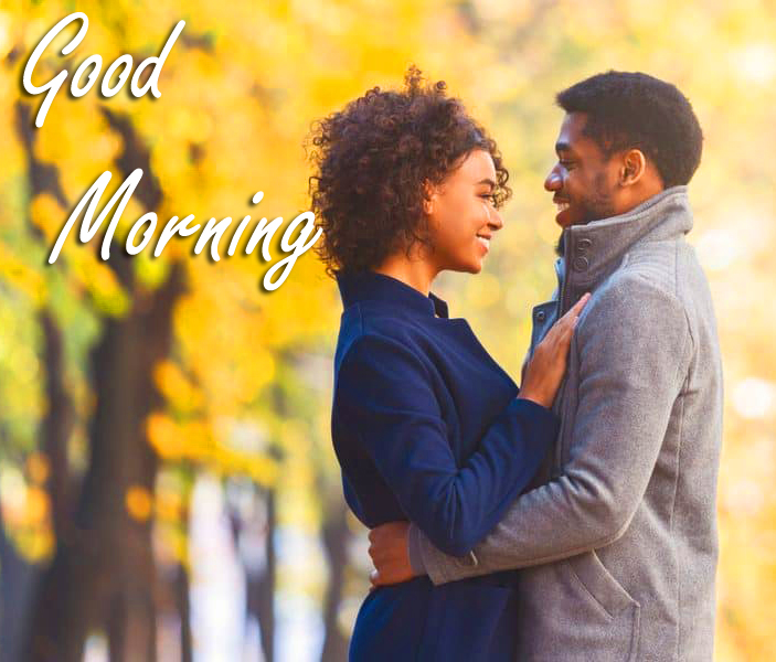 Good Morning with Romantic Couple