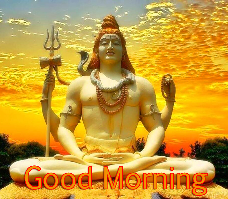 Good Morning with Shiva Photo HD