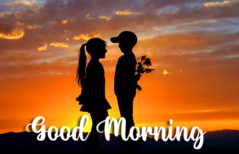 Good Morning with Sweet Couple Photo