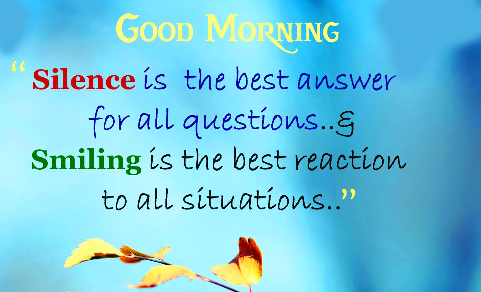 Good Morning with Very Beautiful Quotes