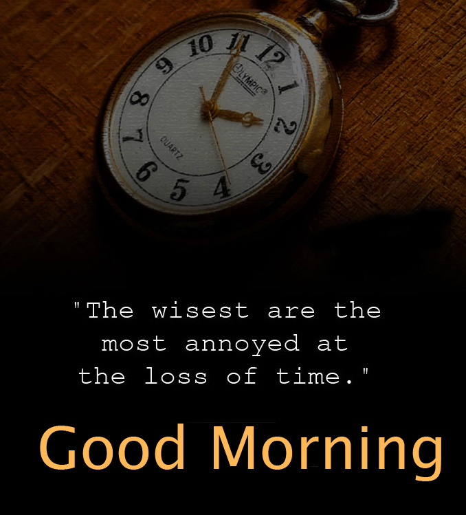 Good Morning with Watch