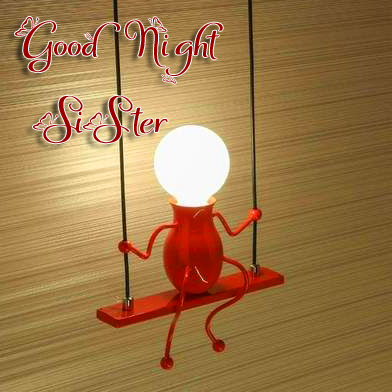 Good Night Sister with Bulb Pic