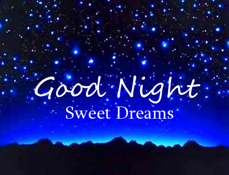 Good Night Sweet Dreams Moon Stars Picture