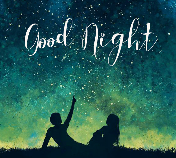 Good Night Wish with Best Couple