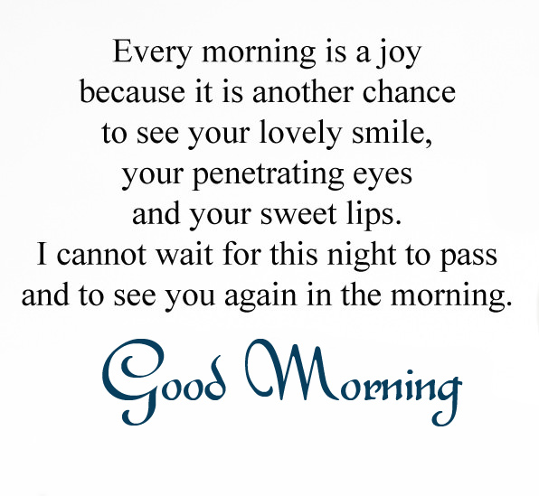 Good Wish with Good Morning Message