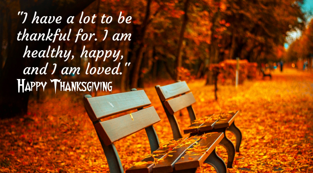 HD Blessing Quotes with Happy Thanksgiving Wish