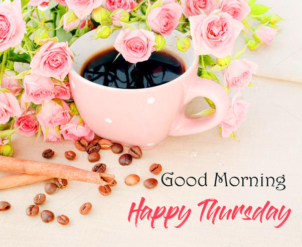 HD Coffee Cup Good Morning Happy Thursday Image