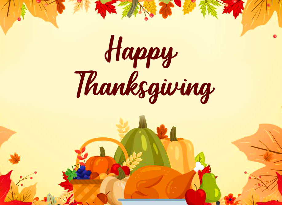 HD Happy Thanksgiving Message