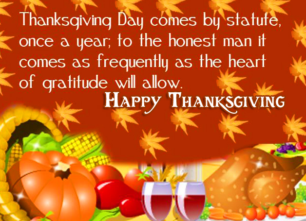 HD Happy Thanksgiving Wallpaper with quotes