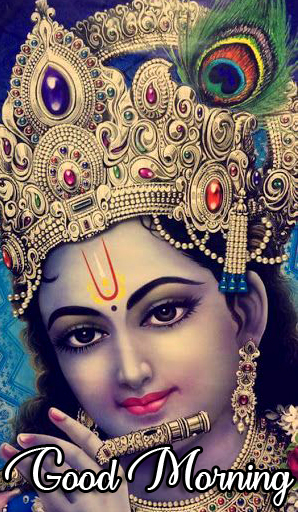 HD Krishna Good Morning Image HD