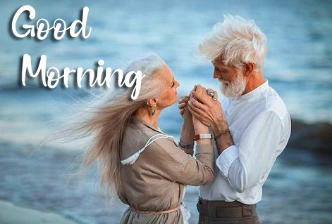 HD Old Couple Good Morning Image