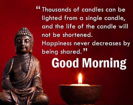 Happiness Quotes with Good Morning Wish