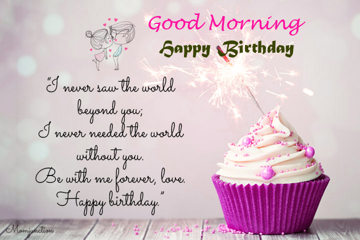 Happy Birthday Good Morning Thought