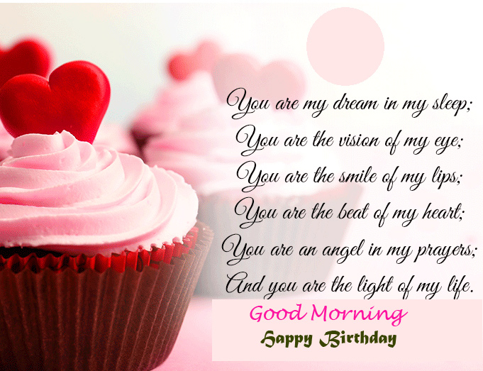 Happy Birthday Good Morning Wishing Picture