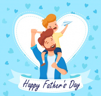 Happy Fathers Day Animated Image