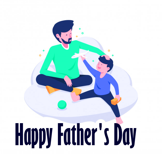 Happy Fathers Day Carttoon