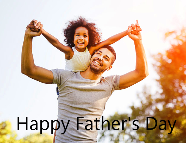 Happy Fathers Day Cheerful Image