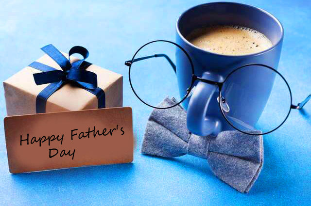 Happy Fathers Day with Gifts