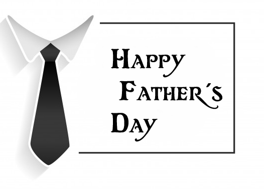 Happy Fathers Day with Tie