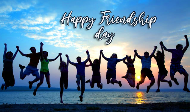 Happy Friendship Day Friends Group Pic