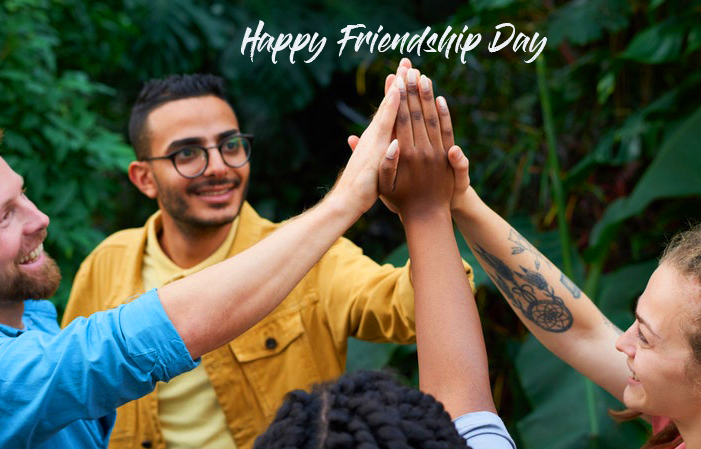 Happy Friendship Day with Best Friends