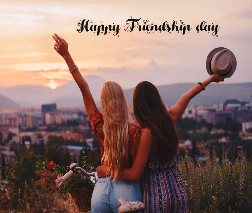 Happy Friendship Day with Cute Bestie Pic