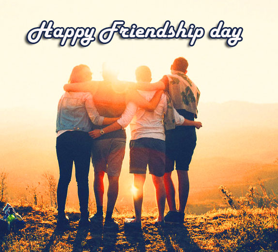 Happy Friendship Day with Group Pic HD