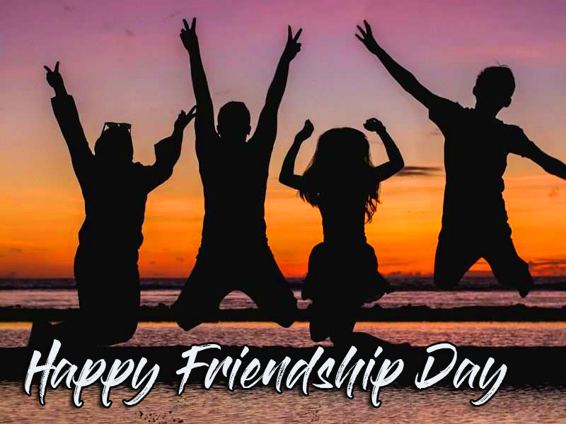 Happy Friendship Day with Group Pic