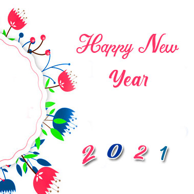 Happy New Year Decorative Picture