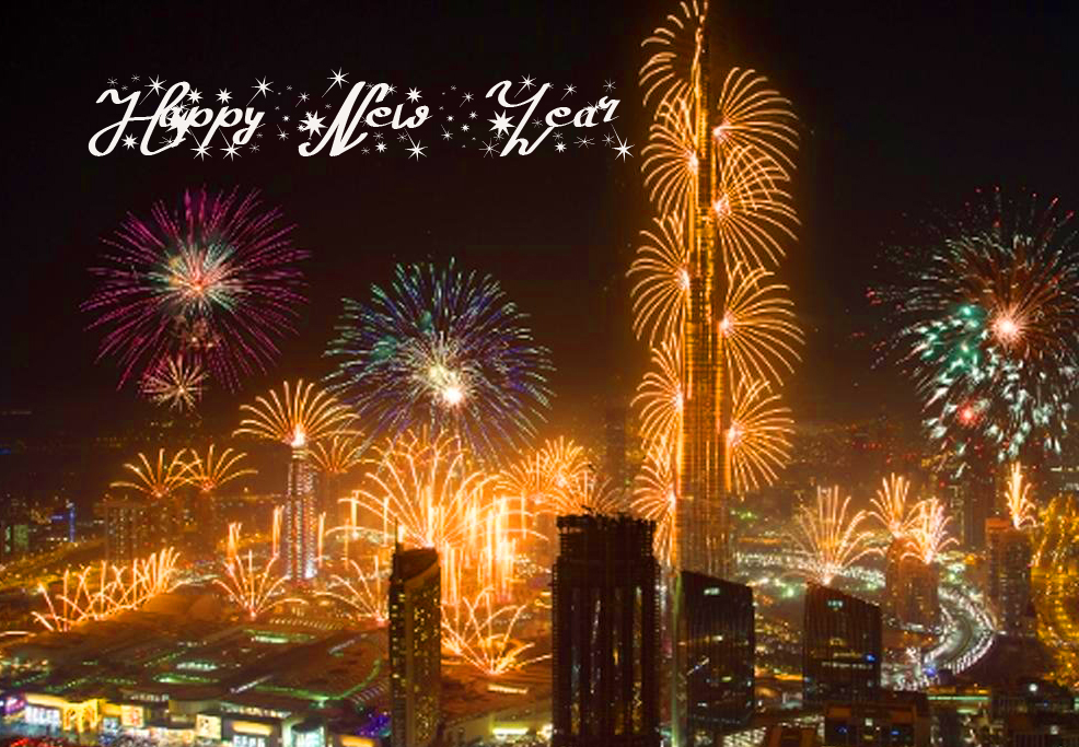 Happy New Year Fireworks Pic