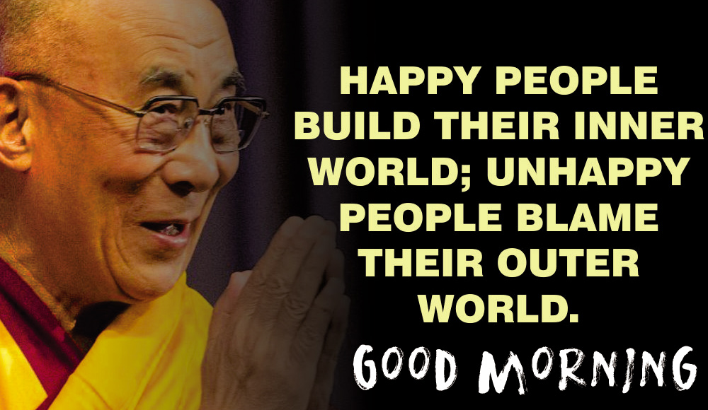 Happy People Quotes Good Morning Image
