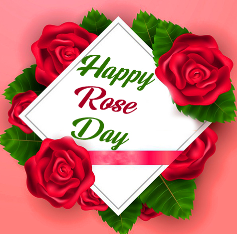 Happy Rose Day Greeting Image HD