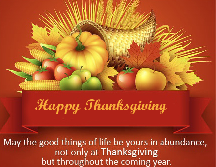 Happy Thanksgiving Message with wishing Quotes