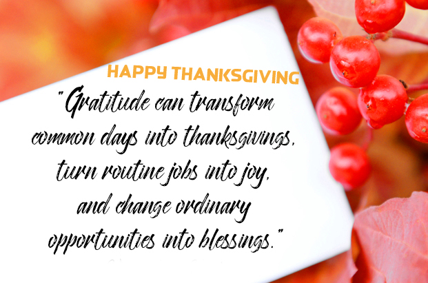 Happy Thanksgiving Quotes Full HD Image