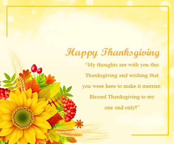 Happy Thanksgiving Quotes Message Picture