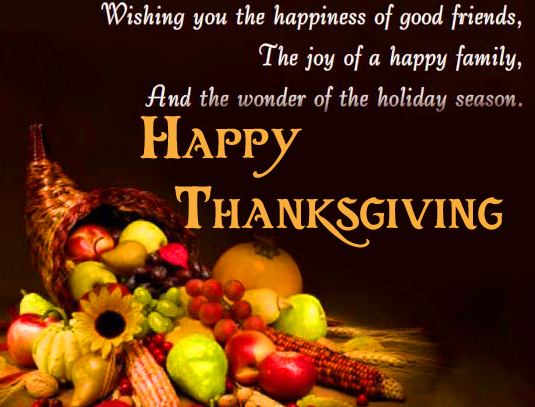 Happy Thanksgiving Quotes Pic