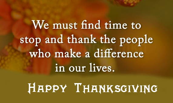 Happy Thanksgiving Quotes Wallpaper HD