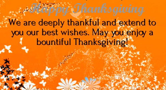 Happy Thanksgiving Whishing Quotes