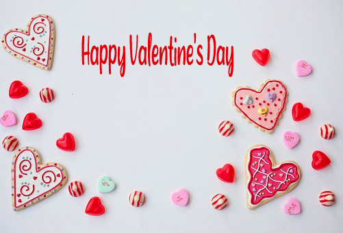 Happy Valentines Day Hearts Pic
